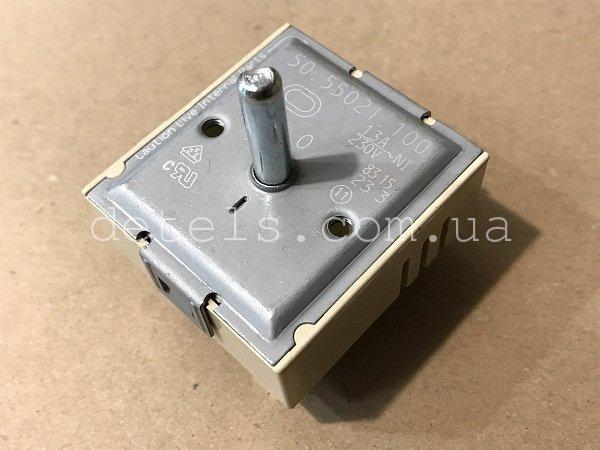 Регулятор мощности конфорки EGO 50.55021.100 с расширением для плиты (универсальный)