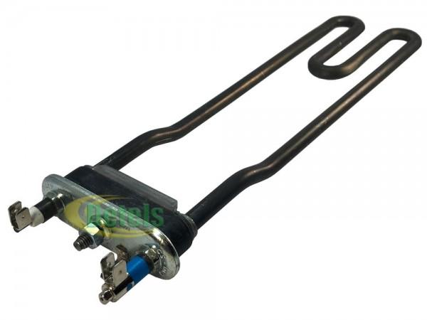 Тэн 270 мм 2000W гнутый без отверстия для стиральной машины Indesit, Ariston (C00051500)
