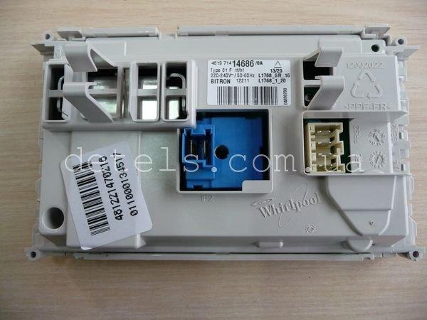 Модуль (плата) управления для стиральной машины Whirlpool AWE 6415 (481221470216)