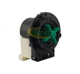 Сливной насос (помпа) Plaset Italy 34W под 3 винта универсальная для стиральной ..