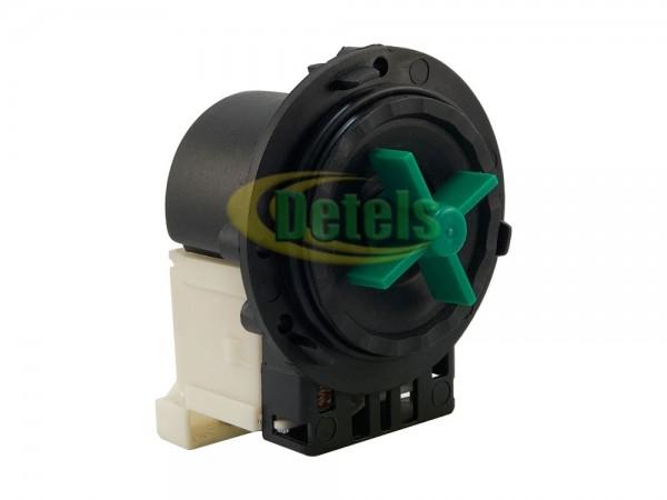Сливной насос (помпа) Plaset Italy 34W под 3 винта универсальная для стиральной машины
