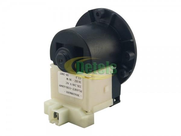 Сливной насос (помпа) Plaset для стиральной машины (cod 63049)