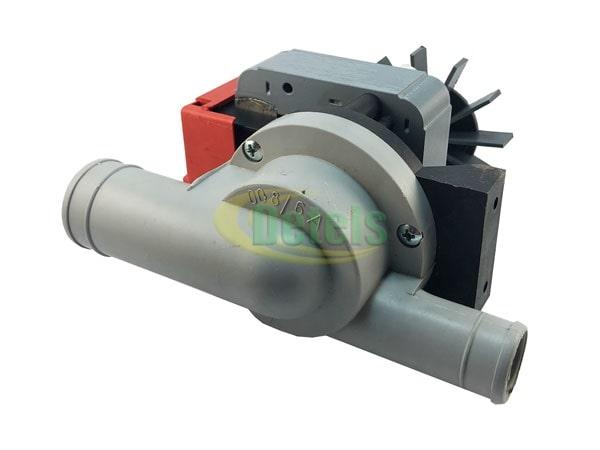 Сливной насос (помпа) GRE Italy 100W в сборе с корпусом для стиральной машины (универсальная)