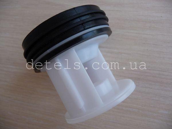 Фильтр-пробка сливного насоса для стиральной машины Bosch, Siemens (601996) Только под насос Askoll