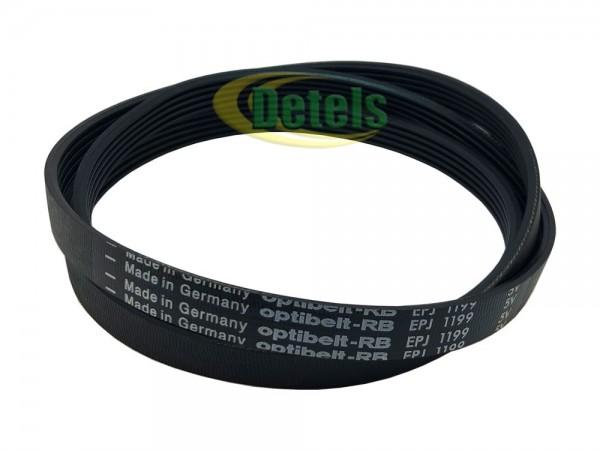 Ремень Optibelt 1199 J MAEL / 5PJE 1199 146247700 для стиральной машины Zanussi, Electrolux, AEG (1462477009)