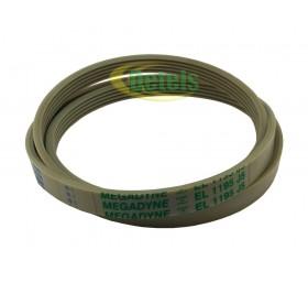 Ремень Megadyne 5PJE 1195 140002231011 для стиральной машины Zanussi, Electrolux..
