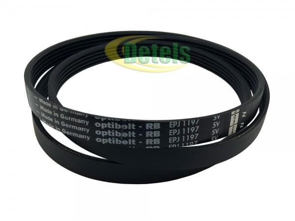 Ремень Optibelt 1197J MA 461973085221 для стиральной машины Whirlpool, Ignis, Bauknecht (481235818161)