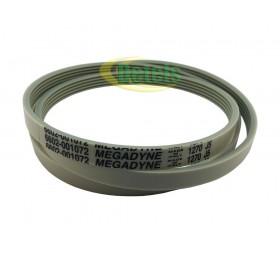 Ремень 6602-001072 Megadyne 1270 J5 для стиральной машины Samsung