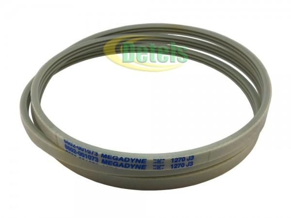 Ремень Megadyne 1270 J3 6602-001073 для стиральной машины Samsung Bio Compact Fuzzy (6602-001440)
