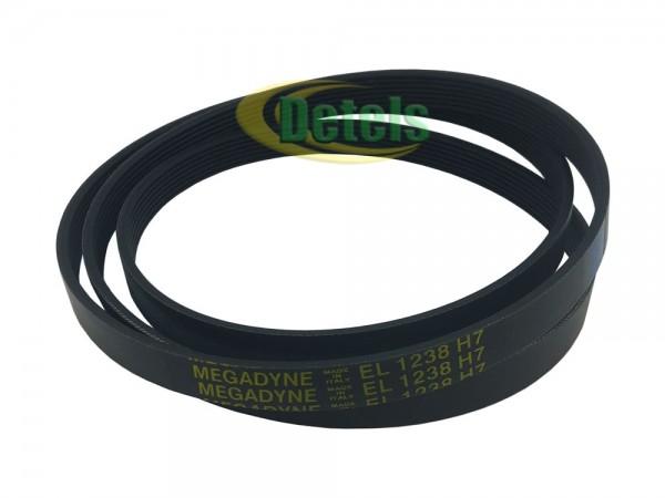 Ремень Megadyne 7EPH 1238 416004001 для стиральной машины Whirlpool, Ardo (416004000)