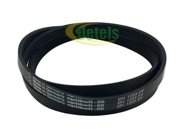 Ремень Optibelt 5EPJ 1225 41021973 для стиральной машины Candy, Zerowatt (41039460)