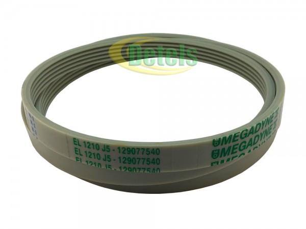 Ремень Megadyne EL 1210 J5 / 5EPJ1210 129077540 для стиральной машины Candy, Hoover, Zerowatt (80001704)