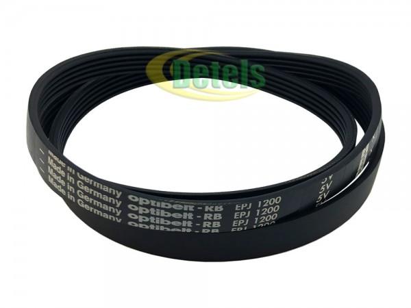 Ремень Optibelt 5PJE 1200 132353100 для стиральной машины Zanussi, Electrolux, AEG (1323531002)