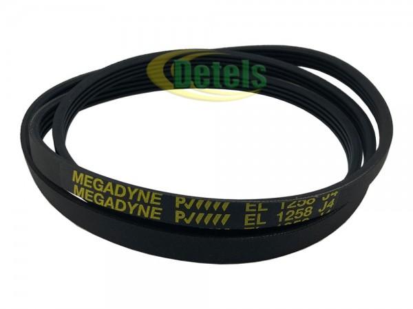 Ремень Megadyne EL 1258 J4 C00055042 для стиральной машины Whirlpool, Ariston, Indesit (461970423361)
