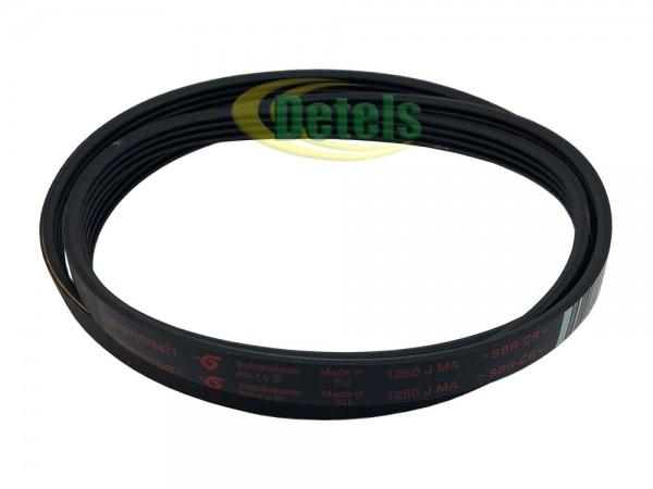 Ремень Hutchinson 1250 J MA 481235818056 для стиральной машины Whirlpool, Bauknecht, Ignis (461971078471)