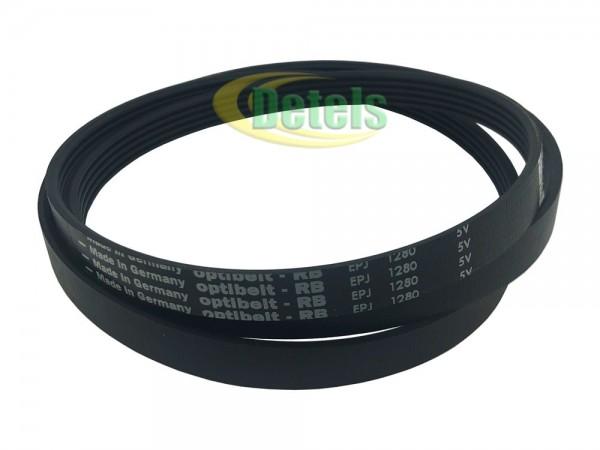 Ремень Optibelt 5PJE 1280 J5 124021121 для стиральной машины Zanussi, Electrolux, AEG (1108786003)