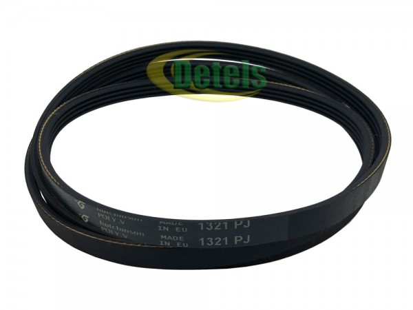 Ремень 4PJ1321 3870132AA9 для стиральной машины Bosch, Siemens, Whirlpool (481935818018, 278340)