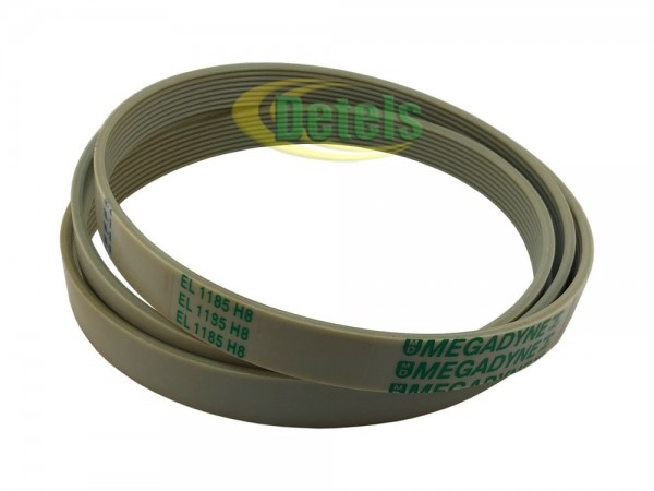 Ремень Megadyne EL 1185 H8 1326721105 для стиральной машины Electrolux, Zanussi, Bosch, Vestel (40014443)