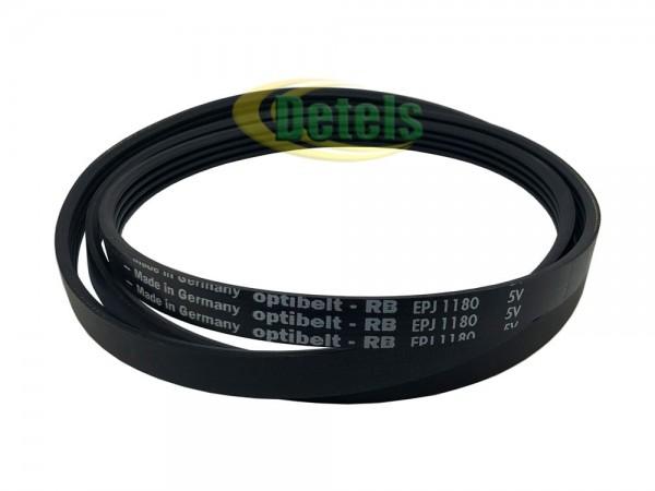 Ремень Optibelt 1180 J MAEL 5420003399 для стиральной машины Bosch, Siemens, Brandt (5420004661)