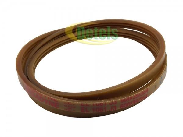 Ремень Megadyne EL 1061 J3 36173600 для стиральной машины Whirlpool, Siltal, Indesit (481935818146)