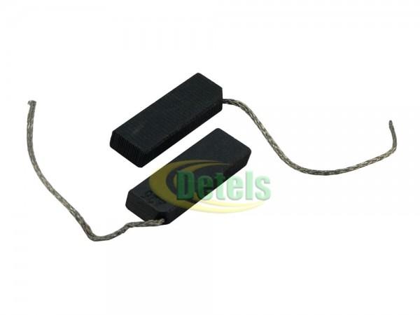 Щетки для стиральной машины 5x12,5 мм однослойные с угловым подключением проводника (2 шт)