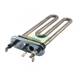 Тэн Kawai 170 мм 1700W с отверстием под датчик для стиральной машины Indesit, Ariston (C00094715)