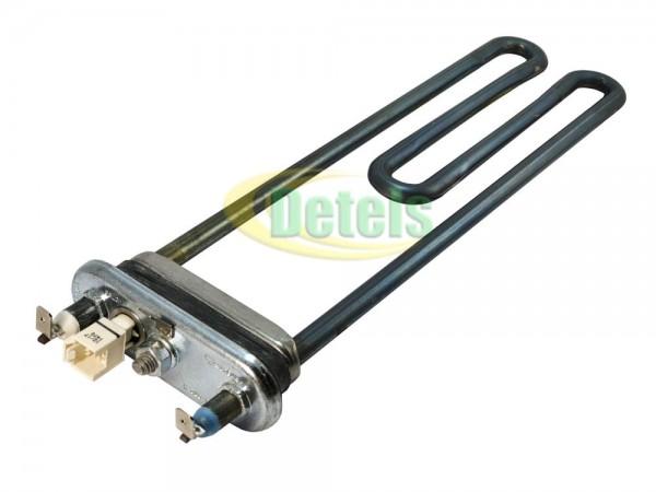 Тэн Irca RW84TF 265мм 1900W с термодатчиком для стиральной машины Beko (2863400500)