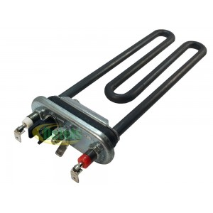 Тэн Thermowatt 200 мм 2000W с термодатчиком для стиральной машины Bosch, Siemens (267512)