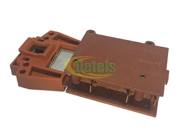 Замок люка (УБЛ) Metalflex zv445-p5 стиральной машины Indesit, Ariston (C00059539)