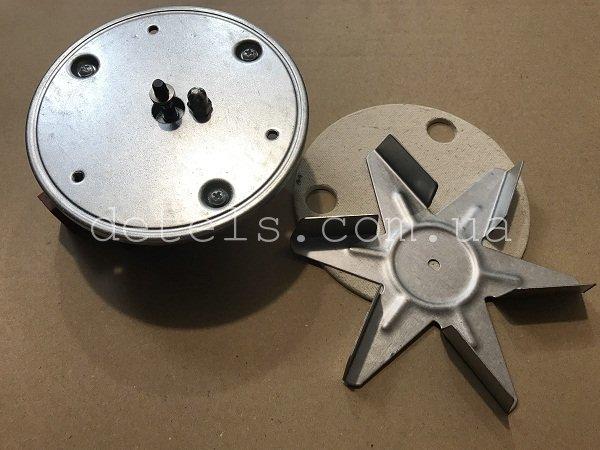 Вентилятор (мотор) обдува конвекции для духовки Indesit, Ariston, Whirlpool, Smeg универсальный (Type 7100GR)