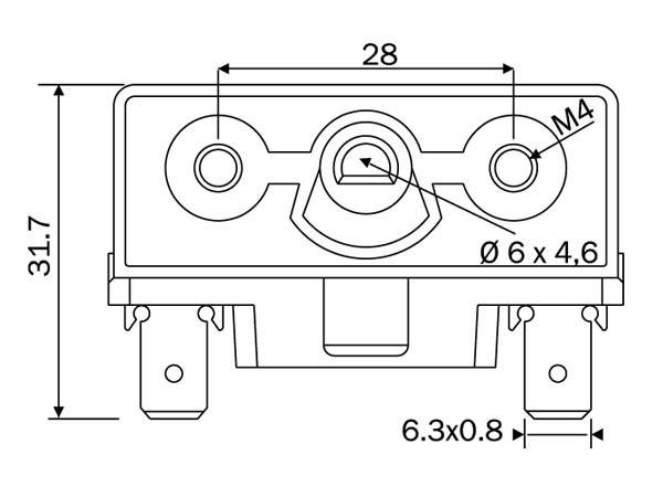 Переключатель режимов духовки для плиты Saturn AC3