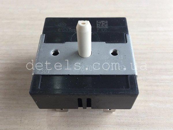 Переключатель (регулятор) мощности Gorenje 156003 для электроплиты (50.77021.001)