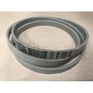 Ремень EL 1245 J5 Megadyne 416003203 416003200 для стиральной машины Ardo