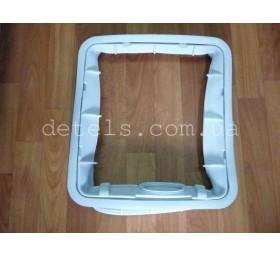 Манжета (резина) люка для стиральной машины Bosch, Siemens (475583) с вертикальн..