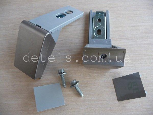 Ремкомплект ручки холодильника Liebherr (9590178-00/013) серебро