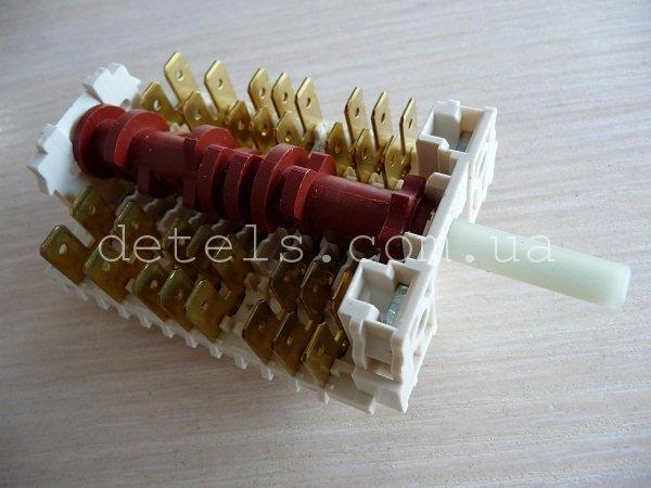 Переключатель режимов духовки 11HE-041 кухонной плиты Gorenje, Mora (2550117, 850117)