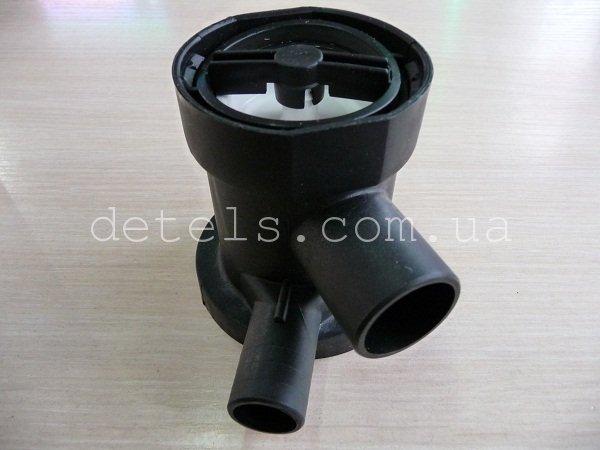 Корпус фильтра (улитка) насоса стиральной машины Whirlpool (481936078363)
