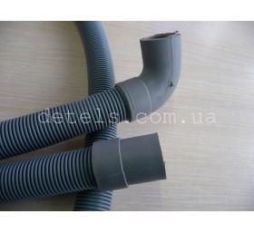 Шланг сливной для стиральной машины с угловым подсоединением 20 мм, длина 3 метр..