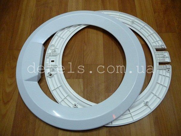 Внешнее обрамление (обечайка) люка Атлант 771114100300 для стиральной машины