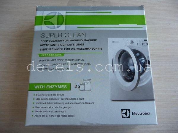 Средство глубокой очистки стиральной машины от плесени и неприятного запаха Electrolux SUPER CLEAN