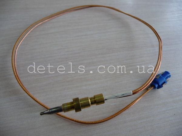 Термопара (газконтроль) кухонной плиты Whirlpool (481010565791) 520 мм