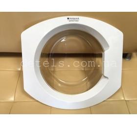 Люк (дверка) стиральной машины Hotpoint Ariston (C00267744) б/у
