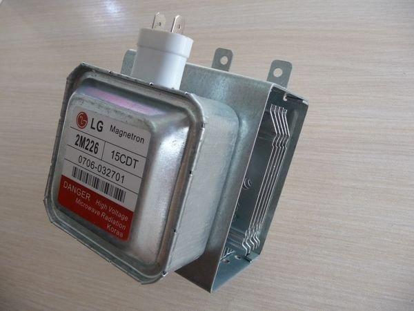 Магнетрон 2M226 для микроволновки LG (0706-032701)