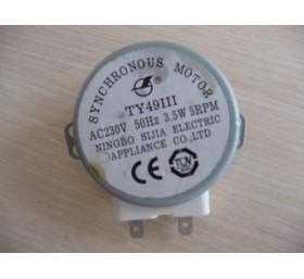 Двигатель для СВЧ-печи универсальный (пластиковый вал)