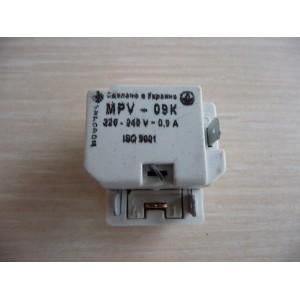 Реле MPV-09K (0,9A); MPV-12K (1,2A); MPV-14K (1,4A) для холодильника