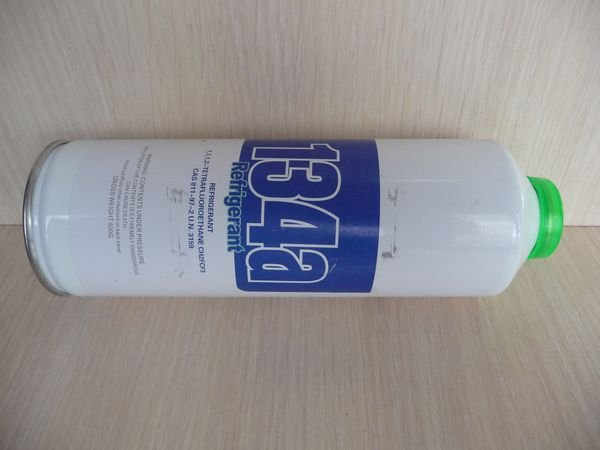 Хладагент (фреон) для холодильника, баллон 500 грамм (R134a)