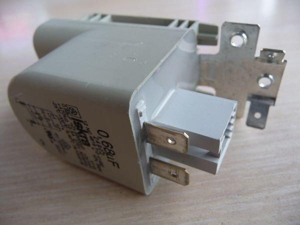 Фильтр помехоподавляющий (радиофильтр) 0,68 mF для стиральной машины Zanussi, Hansa и др