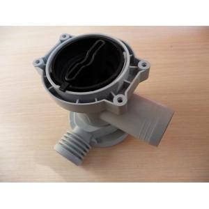 Корпус помпы (улитка) для стиральной машины Indesit оригинальный (085617, С00085617)