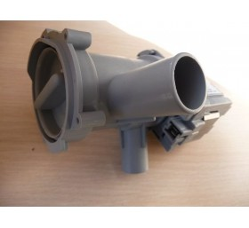 Насос сливной (помпа) в сборе с улиткой и фильтром для стиральной машины Bosch, ..