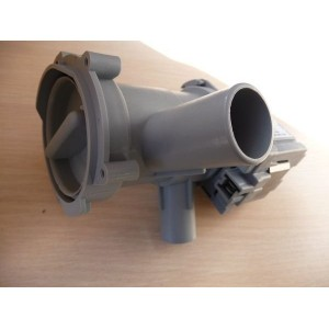 Насос сливной (помпа) в сборе с улиткой и фильтром для стиральной машины Bosch, Siemens (141896, 142370, 141874)